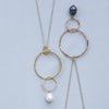 Fairmile Necklace with Pearl - Lulu B Jewellery