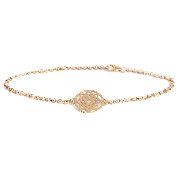 Rose Gold Prosperity Bracelet - Lulu B Jewellery