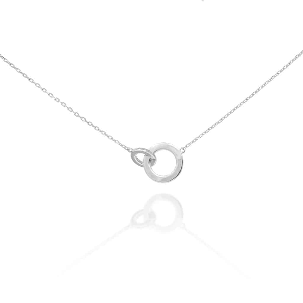 Silver Eternity Necklace - Lulu B Jewellery
