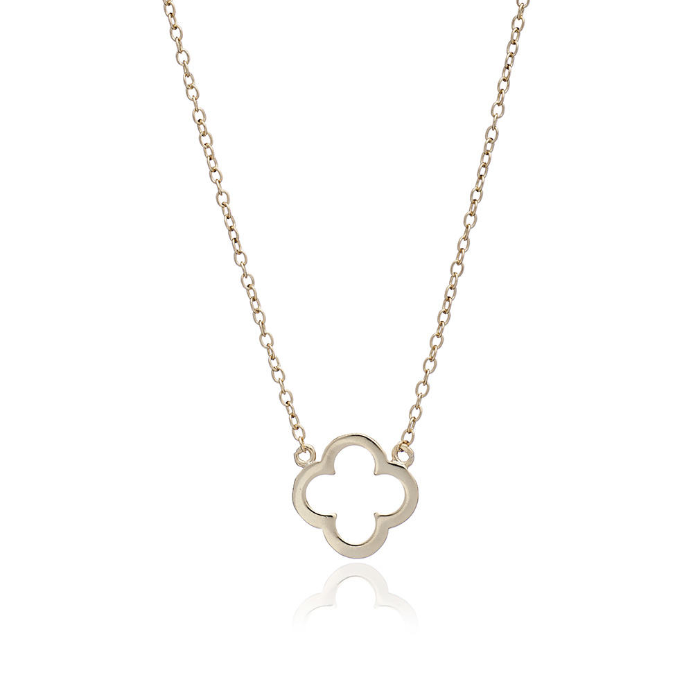 Gold Clover Necklace - Lulu B Jewellery