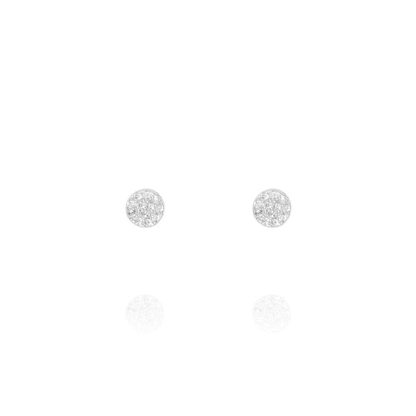 Silver Mini Stud Earrings - Lulu B Jewellery