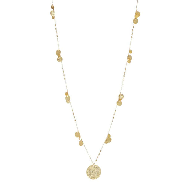 Gold Harper Chain with Coin - Lulu B Jewellery