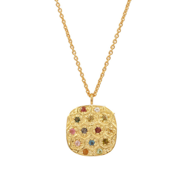 Gold Indiana Necklace - Lulu B Jewellery