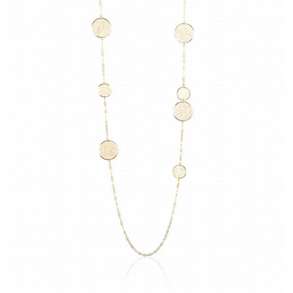 Gold Olympia Necklace (Long) - Lulu B Jewellery