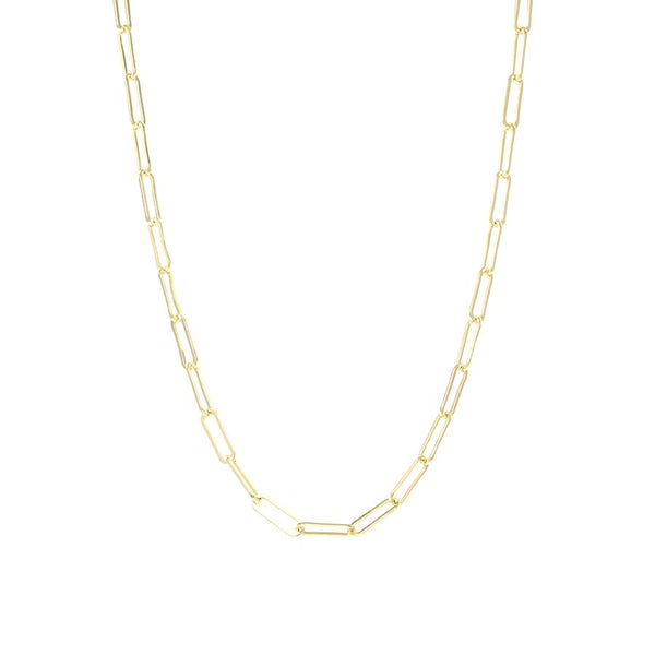 Gold Piccadilly Chain Necklace - Lulu B Jewellery