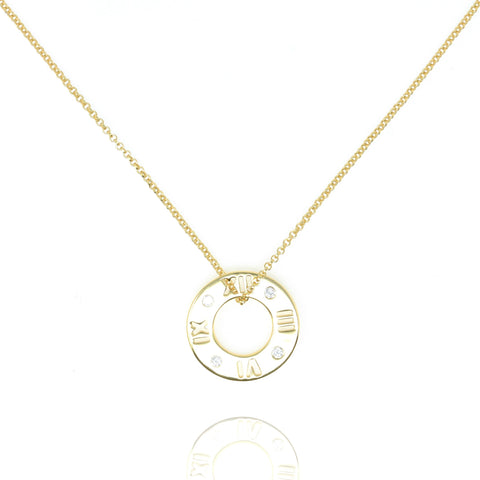 Gold Roma Necklace - Lulu B Jewellery