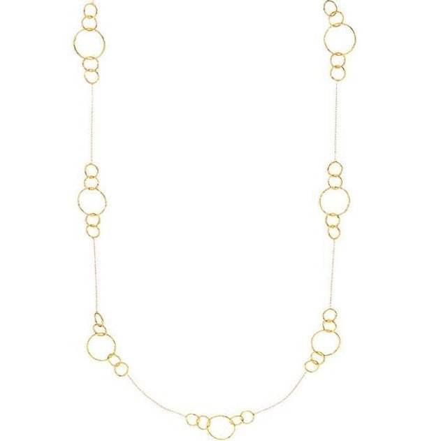 Gold Rosie Necklace - Lulu B Jewellery