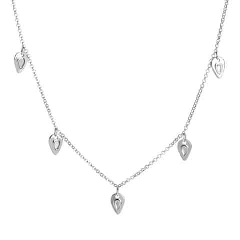 Silver Portland Chain Necklace - Lulu B Jewellery