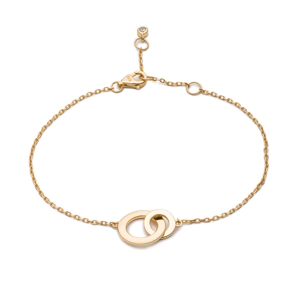 Gold Eternity Bracelet - Lulu B Jewellery