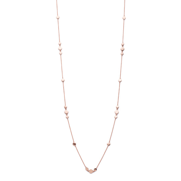 Rose Gold Dakota Chain Necklace- Lulu B Jewellery