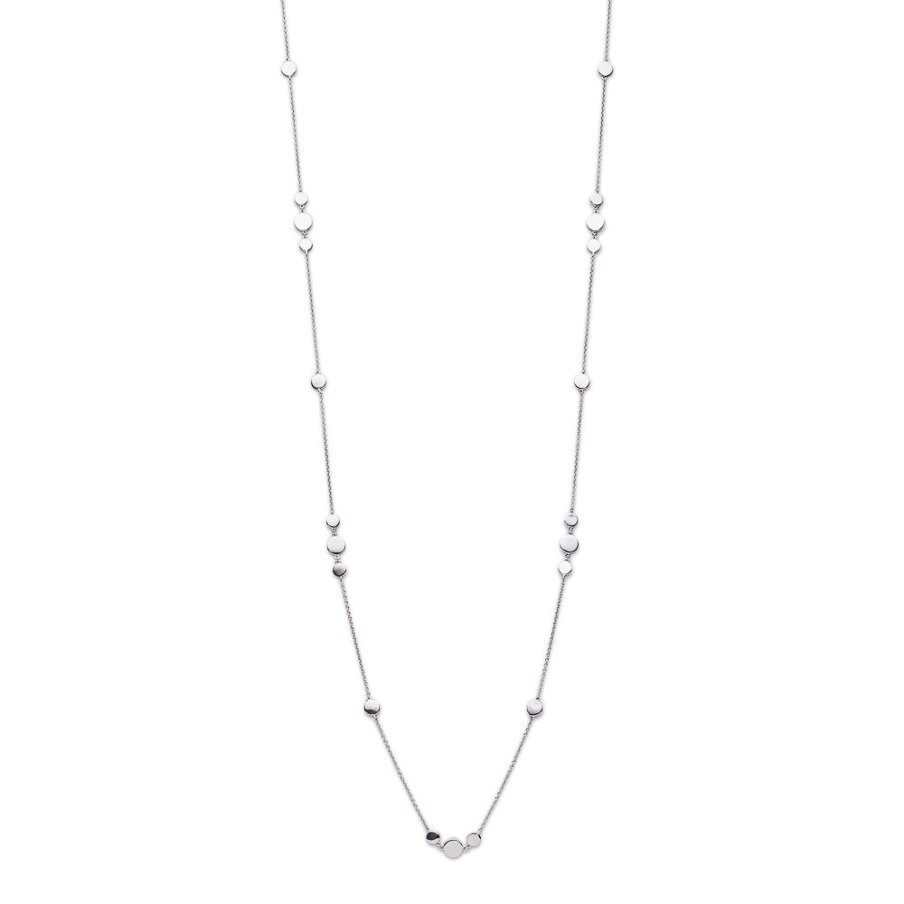 Silver Dakota Chain Necklace- Lulu B Jewellery