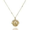 Gold Penny Necklace - Lulu B Jewellery