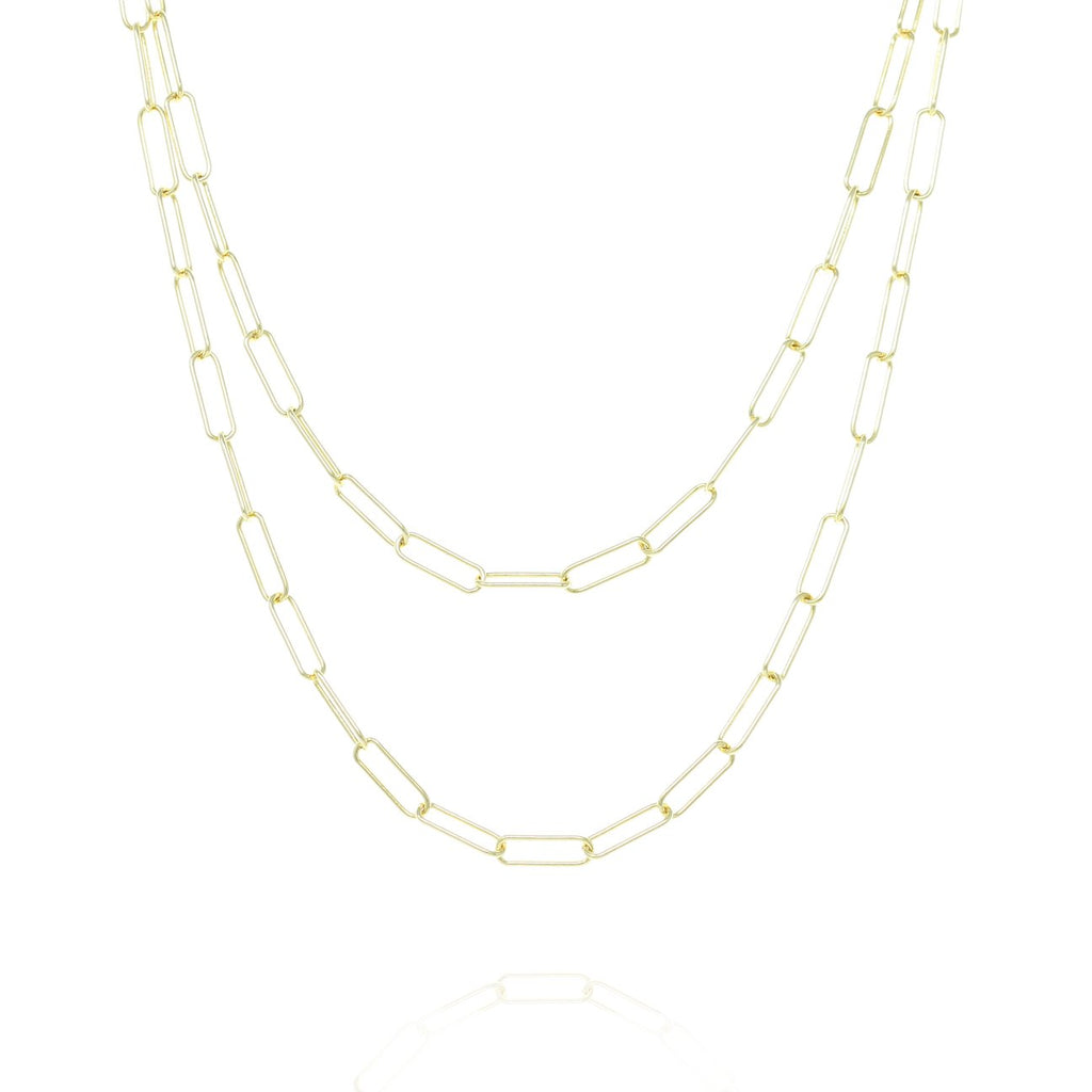 Gold Regent Chain Necklace - Lulu B Jewellery