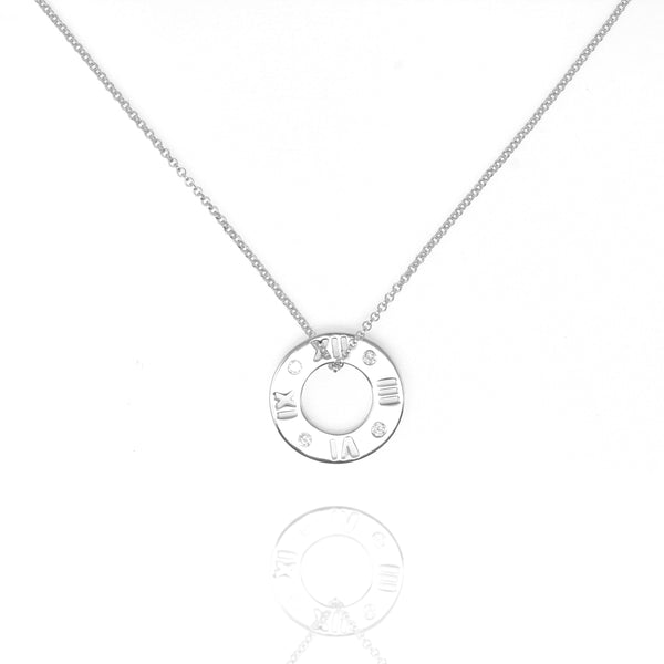 Silver Roma Necklace - Lulu B Jewellery