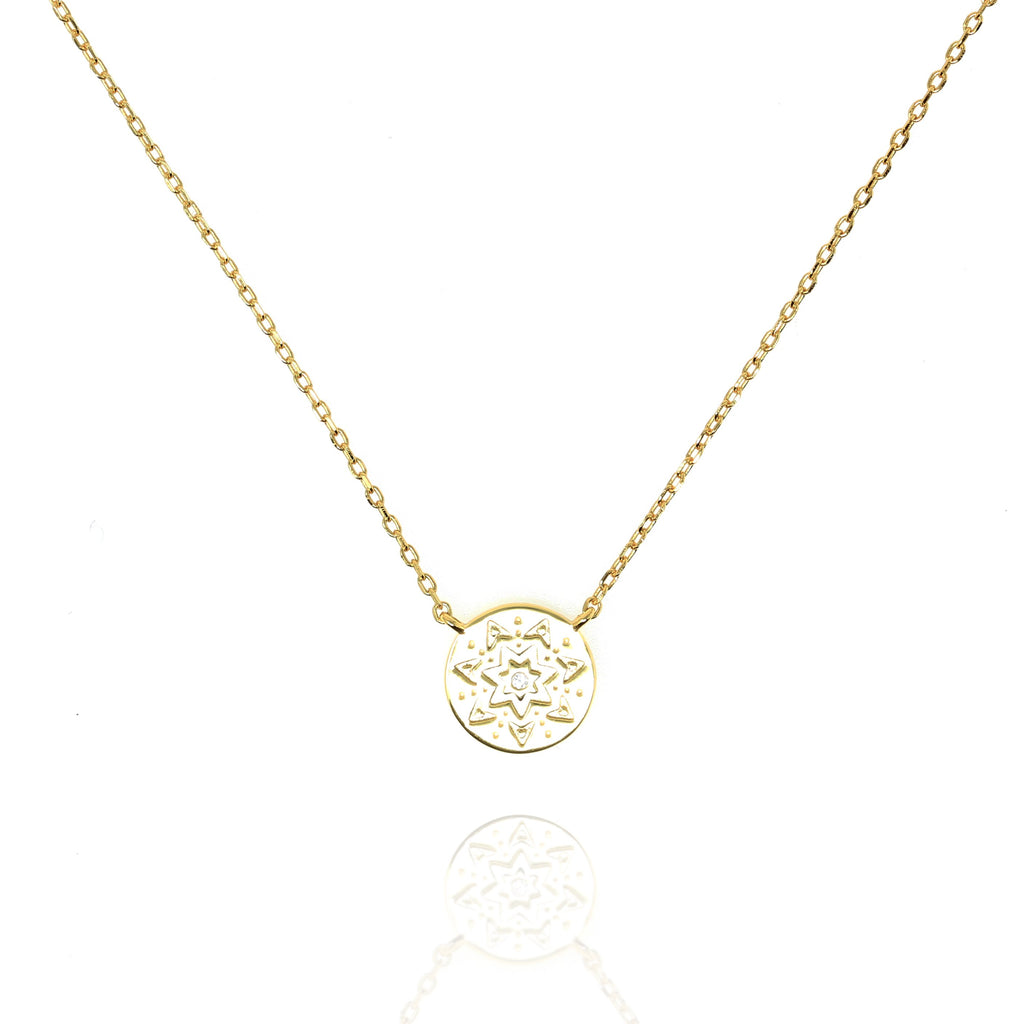 Gold Aurora Necklace - Lulu B Jewellery