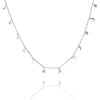 Silver Skye Chain Necklace - Lulu B Jewellery