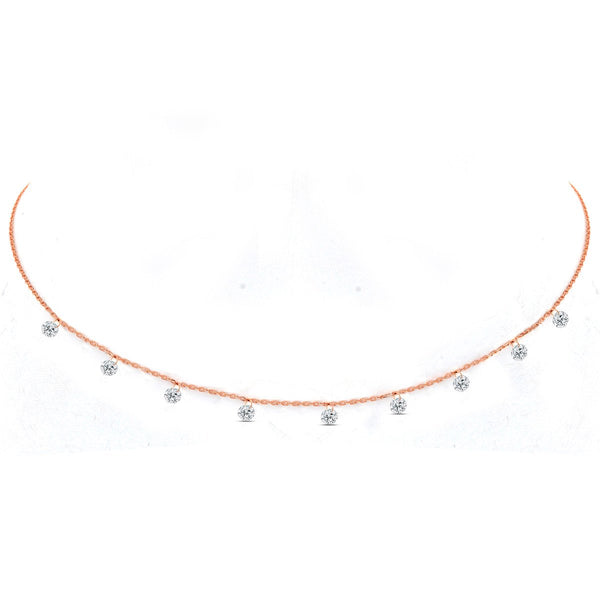 Rose Gold Cordelia Necklace - Lulu B Jewellery