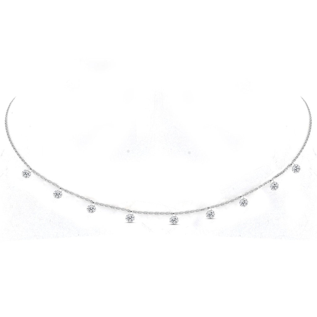 Silver Cordelia Necklace - Lulu B Jewellery