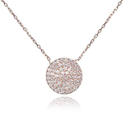 Rose Gold Knightsbridge Necklace - Lulu B Jewellery