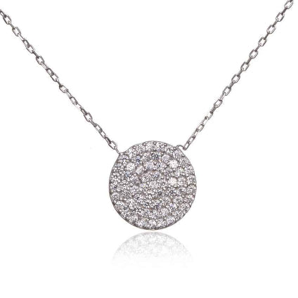 Silver Knightsbridge Necklace - Lulu B Jewellery