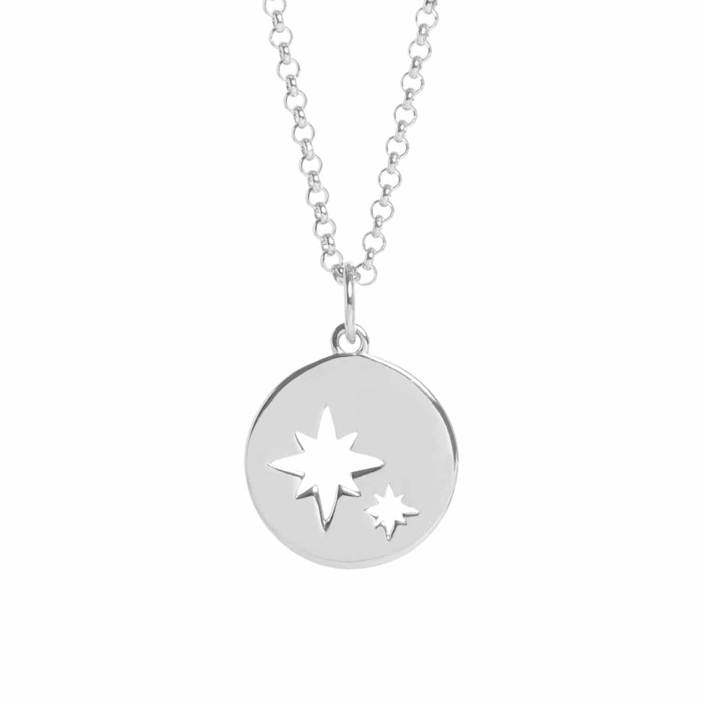 Silver Constellation Necklace - Lulu B Jewellery