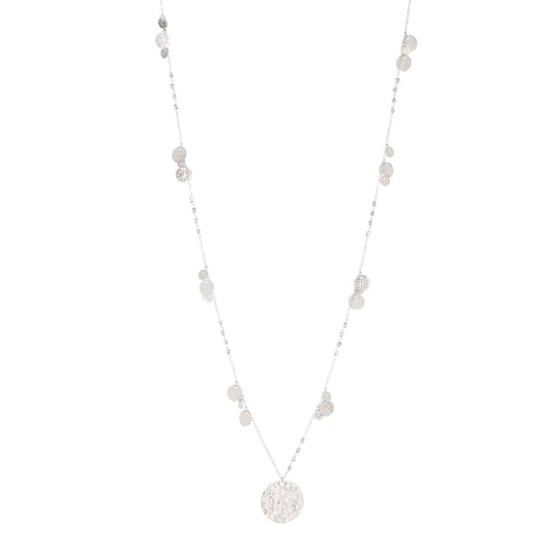 Silver Harper Chain with Coin - Lulu B Jewellery