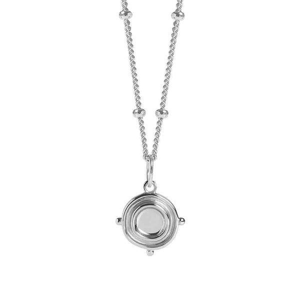 Silver Lucca Necklace - Lulu B Jewellery
