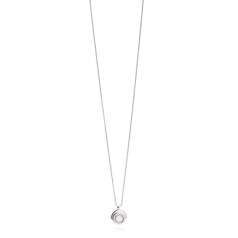 Silver Newton Necklace - Lulu B Jewellery