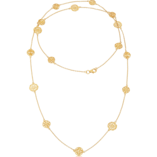 Gold Finsbury Necklace - Lulu B Jewellery