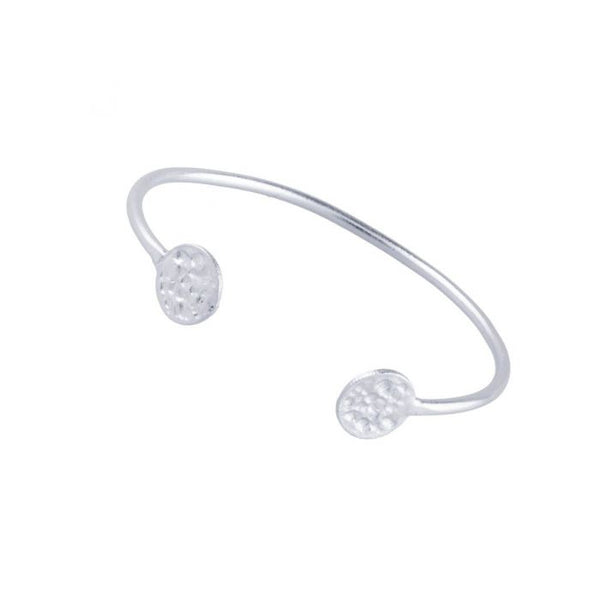 Silver Harper Bangle - Lulu B Jewellery