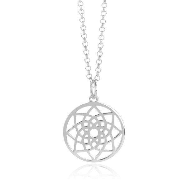 Silver Prosperity Necklace - Lulu B Jewellery