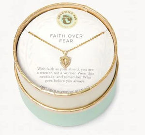 SPARTINA - Faith Over Fear Necklace