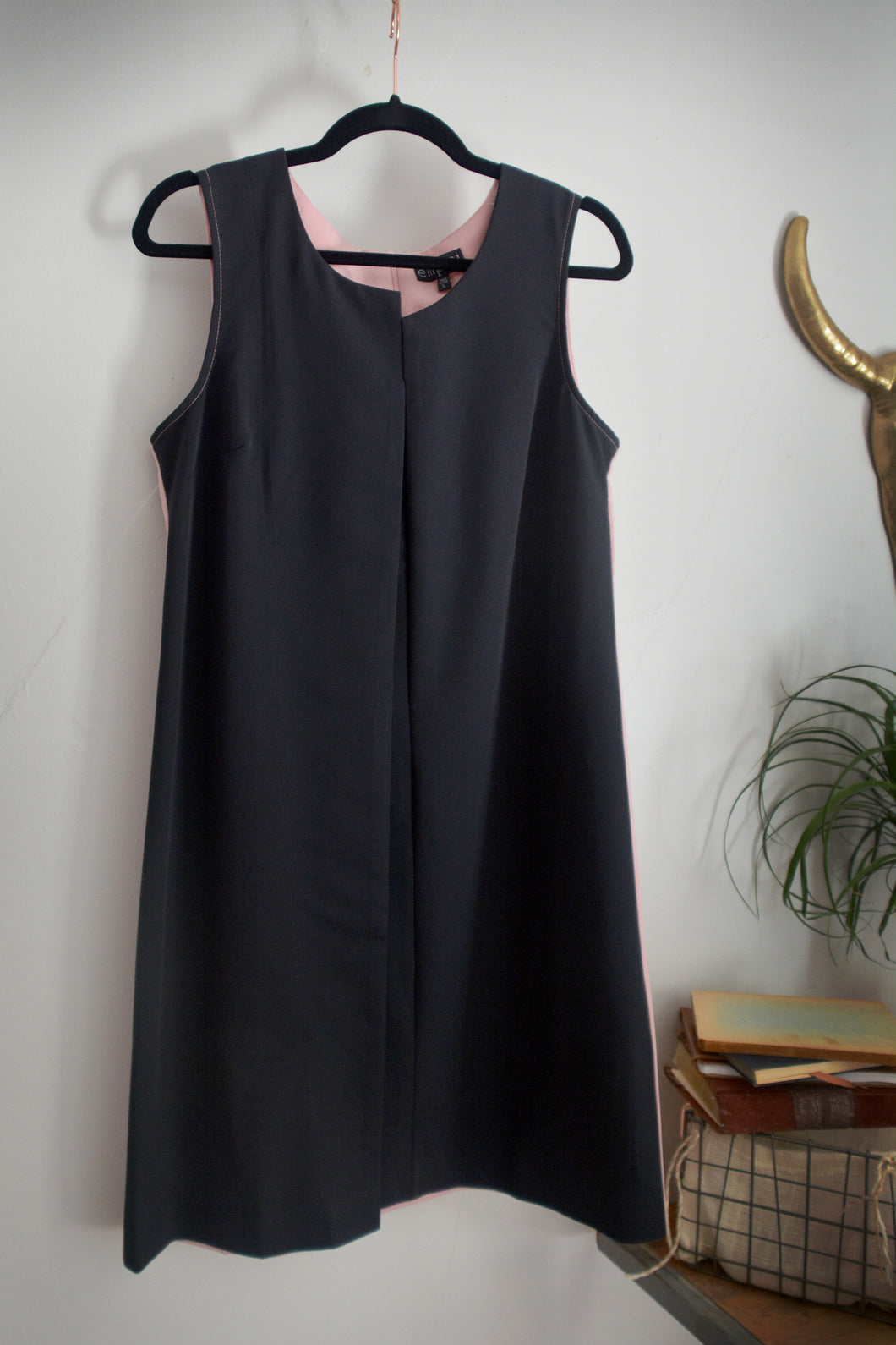 Black and Pink Dress by Emploi
