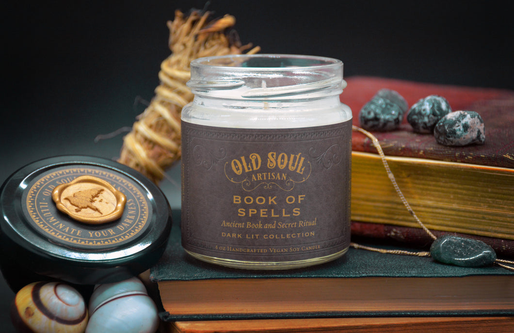 Book of Spells // Old Soul Artisan Candles