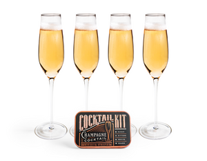 Champagne Cocktail // Cocktail Kit 2 Go
