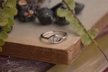Load image into Gallery viewer, Sterling Silver Evil Eye Ring