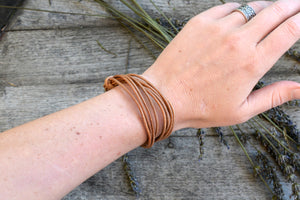 Imani Leather Bracelet