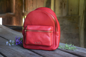 Red Itty-Bitty Backpack