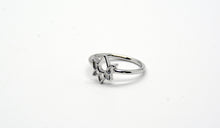 Load image into Gallery viewer, Sterling Silver Lotus Flower Ring
