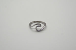 Sterling Silver Moon Tide Ring