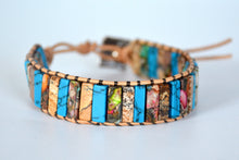 Load image into Gallery viewer, Woven Stone Naturals Bracelet