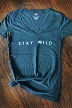 Load image into Gallery viewer, Stay Wild Blue T-Shirt