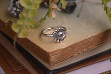 Load image into Gallery viewer, Sterling Silver Sunflower Ring