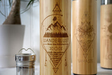 Load image into Gallery viewer, WANDERLUST Bamboo Bottle