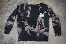 Load image into Gallery viewer, WILD HEART Reverse Tie Dye Sweater