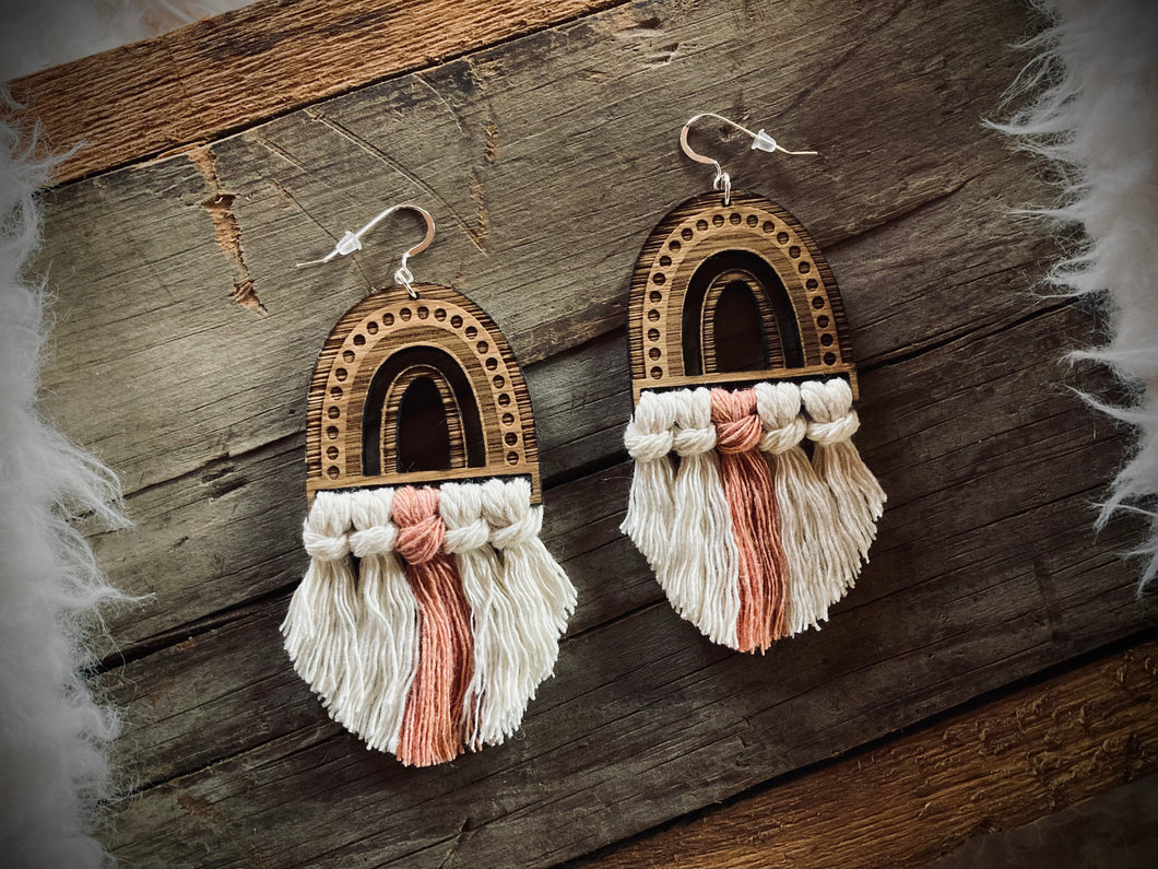 BOHO RAINBOW EARRINGS