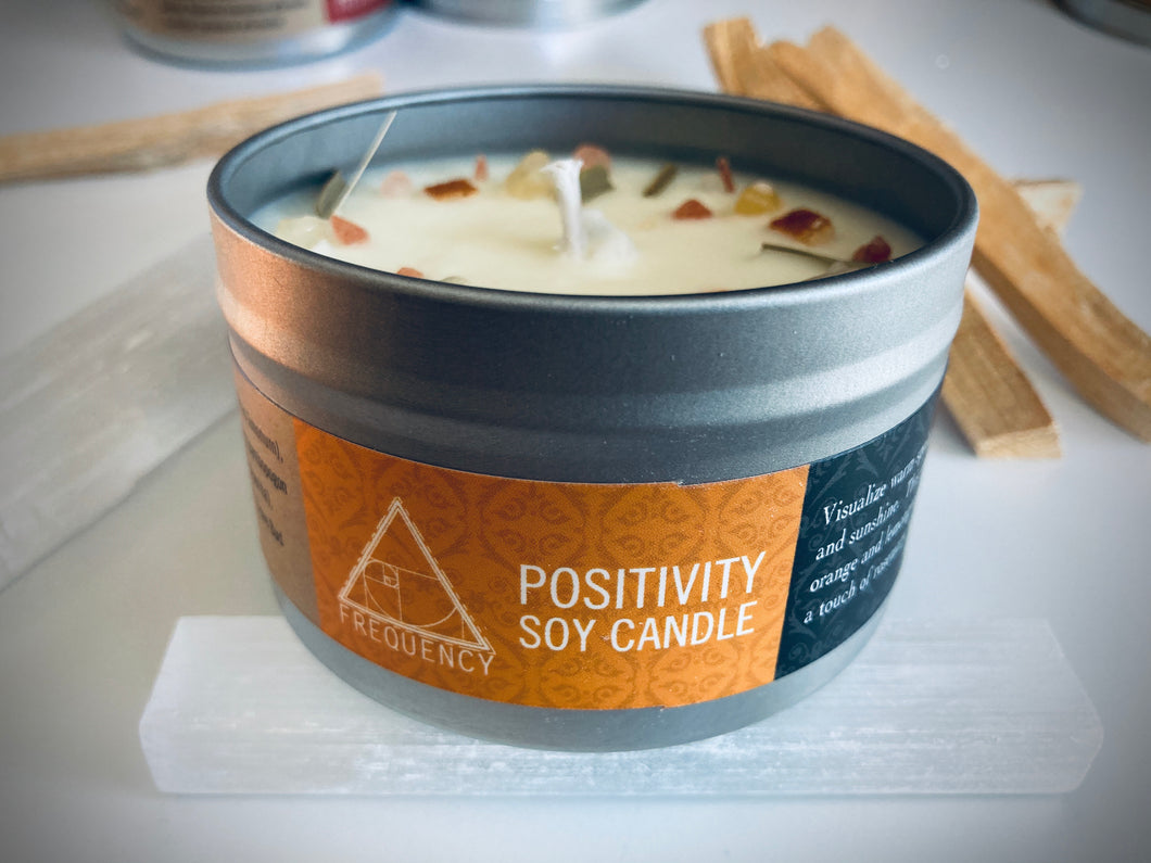 POSITIVITY SOY CANDLE