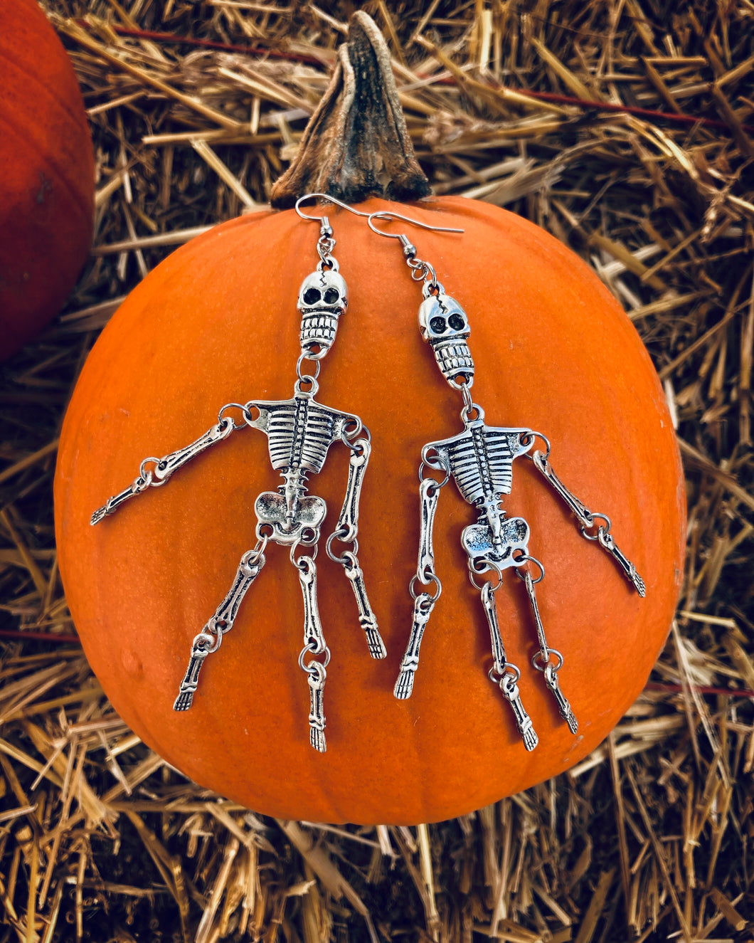 Skinny the Skeleton Earrings