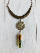 Load image into Gallery viewer, Bronze Aztec Bib Necklace