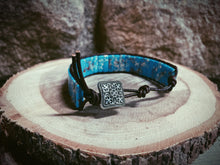 Load image into Gallery viewer, Woven Stones Turquoise Bracelet